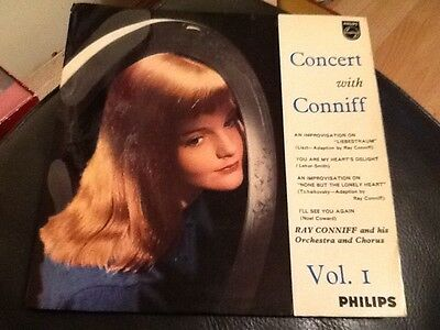 Ray Conniff And Orchestra . Concert With Conniff Vol 1 E.p. Liebestraum . Rare