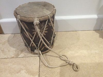Hand Carved Wooden Ashiko Talking Drum