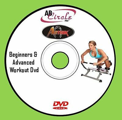 AB CIRCLE PRO 4 WORKOUTS DVD Ab Motion AbTrak Ab Fitness