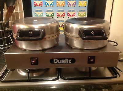 Dualit 73002 Professional Catering Contact Sandwich Toaster #1