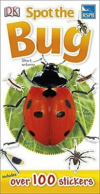RSPB Spot the Bug Book by DK Paperback