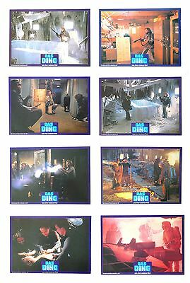 The Thing - 1982 - John Carpenter Horror - German FOH Lobby Cards - Set of 16