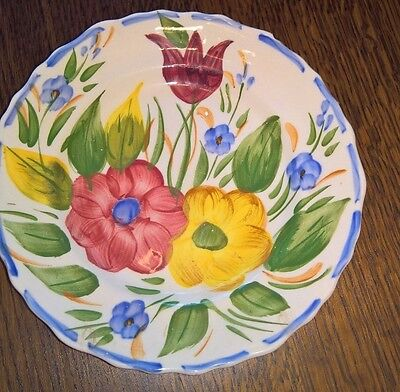 Antique Pottery Plate