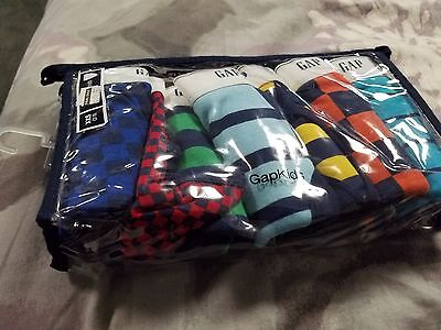 boys 7 pack gap underwear  colorful stripes size 2-3