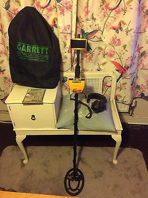 Garrett Ace 150 Metal Detector With Headphones, DVD User Guide And Carry Bag