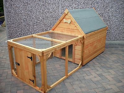Dog Kennel and RUN for Medium Dog/Large Dog - Quality item CAN DELIVER