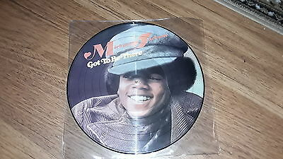 "Michael Jackson Got To Be There 12"" Picture Disc Rare Promo"