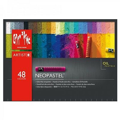 CARAN D'ACHE NEOPASTEL Oil Pastels | Box Of 48 | New & Sealed | RRP £100