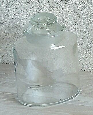 Vintage Oval Ground Drug Store Apothecary Jar, by Arden, Vintage Wedding