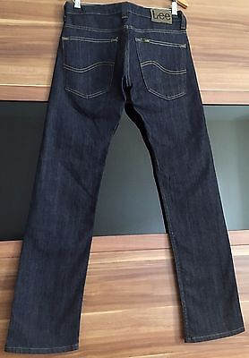 LEE Powell Jeans Royal Rinse dunkelblau W31 L32 Straight Fit Stretch Hose Slim