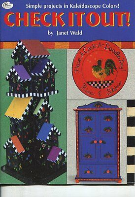 PAINTING BOOK - CHECK IT OUT by JANET WALD