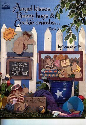 PAINTING BOOK - ANGEL KISSES, BUNNY HUGS & COOKIE CRUMBS...BOOK 3 by Temple & Pa