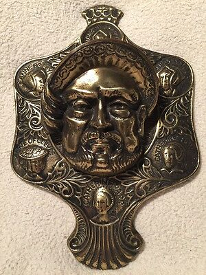 Stunning Huge Heavy Antique Henry VIII Door Knocker