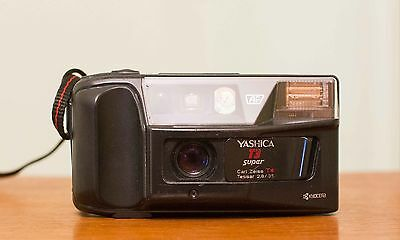 Yashica T3 super 35mm f2,8 zeiss