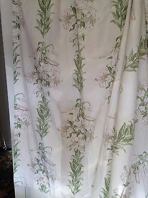 Laura Ashley Vintage Long Tiger Lily Curtains