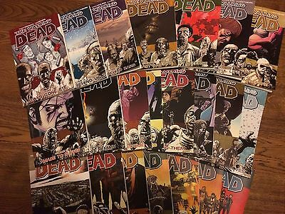 The Walking Dead Volume 1-22 Collection, Comic/graphic Novels, No Reserve!