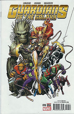 Guardians Of The Galaxy #10 2016 Marvel Comics