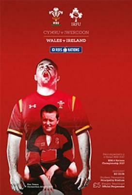 Pre-Order - Wales v Ireland - Rugby Union 6 (Six) Nations - 10 March 2017