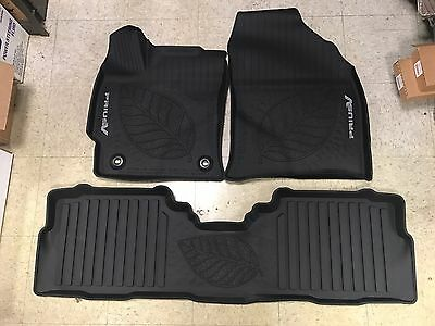 2017 Toyota Prius V 3PC OEM All Weather Floor Liners Mats PT908-47170-02