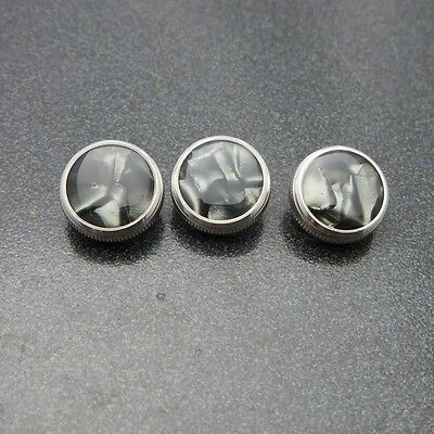 Bach Custom Silver Trumpet Buttons by Noteworthy Music Products Black Satin