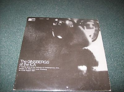 Allen And Louis Ginsberg - The Ginsbergs At The ICA LP UK 1967 Saga PSY 30002