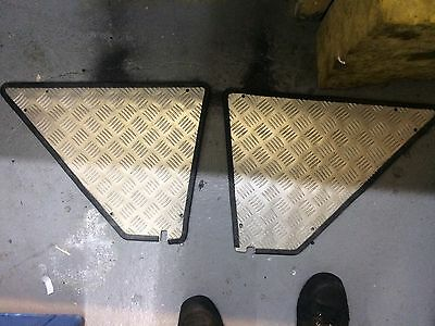 renault 5 gt turbo Track Stripped Out Rear Quarter Cover Panels Trims