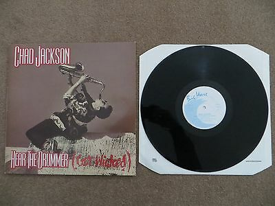 "CHAD JACKSON ‎– HEAR THE DRUMMER (Get Wicked), 12"" VINYL SINGLE, 1990, BWRT 36"
