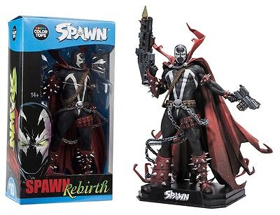 "Spawn Rebirth Figure 7"" Colour Tops Blue Wave McFarlane Toys PRE-ORDER"
