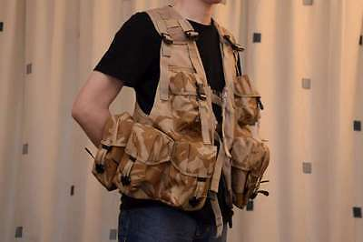 Tactical Vest, Load Carrying, British Army Desert Camouflage