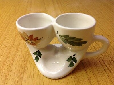 Super Collectable, Toni Raymond, Unusual, Double Egg Cup with Handle