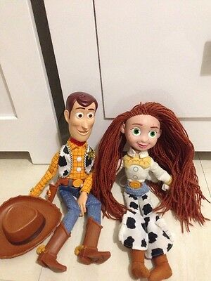toy story woody talking Pull String Jessie Just Soft Toy