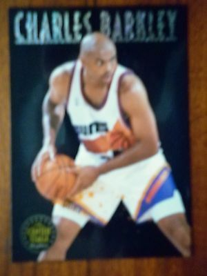 1993 Skybox The Centre Stage Charles Barkley Insert