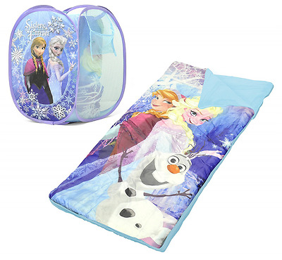 Disney Frozen Sleeping Bag and Hamper Set