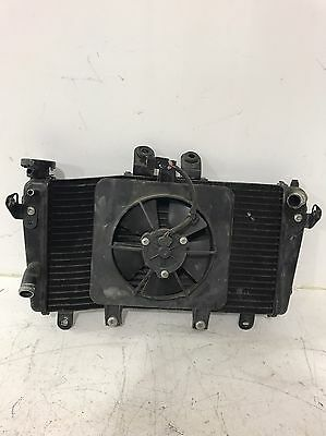 2007-2010 Triumph Speed Triple 1050 Radiator Cooling Fan Assembly Oem Used