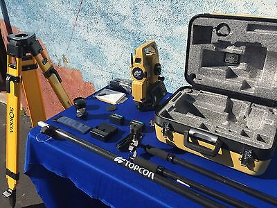 Topcon DS-205AC/PS2, Robotic Total Station System