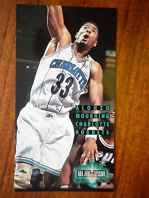 1994 Fleer Nba Jam Session Alonzo Mourning Card