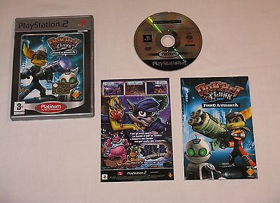 Ratchet & Clank Fuoco A Volonta' Per Sony Playstation 2 Ps2 Pal Ita