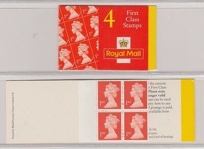 GB STAMPS Booklet 1997  HB14 B    4  x 1st  Class