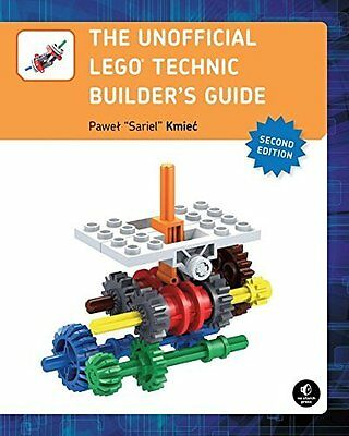 Unofficial LEGO Technic Builder's Guide Book by Kmiec Pawel 'sariel' Paperback
