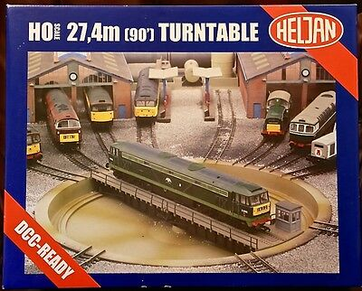 Heljan 90' Turntable DCC Ready. Model No. 89111