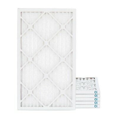 12x24x1 MERV 8 Pleated AC Furnace Air Filters.    6 Pack / $5.33 each
