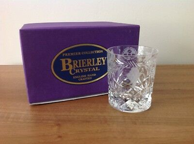 Brierley Finest Crystal  Whiskey Glass