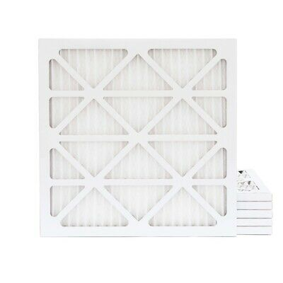 25x25x1 MERV 13 Pleated AC Furnace Air Filters.    6 Pack / $10.66 each