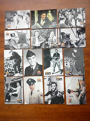 1992 The River Group Lot Of 14 Elvis Cards