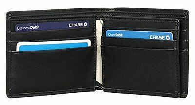 Premium Quality Leather Wallet w/ RFID Blocking, Excellent Credit Card Protector