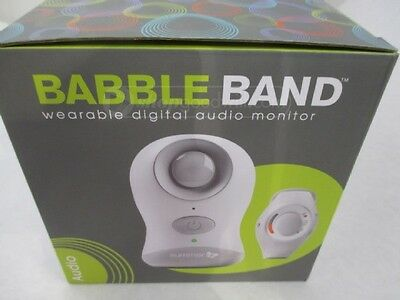 New Summer Infant Babble Band Wearable Digital Audio Baby Monitor NEW IN PACKAGE