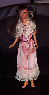 "Vintage 1973 Reversible Hair TIFFANY TAYLOR  Ideal Blonde Brunette 18"" Doll"