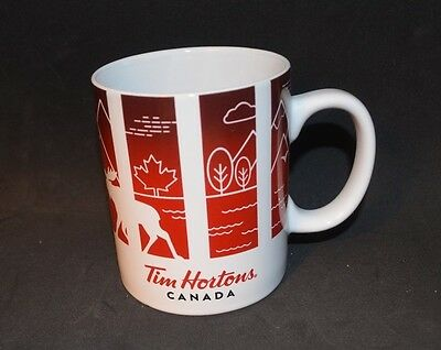 2017 Tim Hortons Limited Edition Travellers Collection Canada Mug New With Box