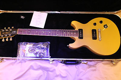 Gibson 2015 Les Paul Special Double Cutaway Electric Guitar - Trans Yellow Top