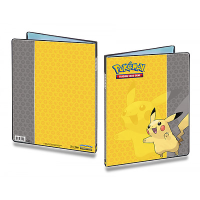 ULTRA PRO POKEMON PIKACHU 9-Pocket Portfolio Card Album Folder A4 Hold 180 Cards